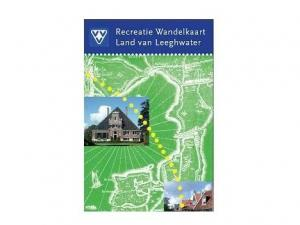 Recreatie wandelkaart Land van Leeghwater